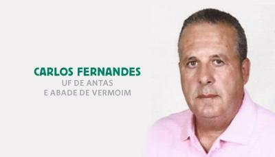Carlos Fernandes é o cabeça de lista à União de Freguesias Antas e Abade Vermoim