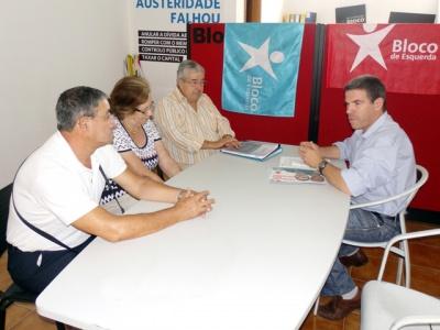 Candidatura Bloquista reúne com APRe! de Famalicão
