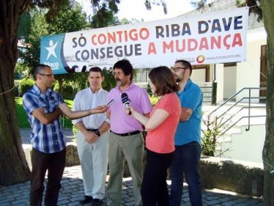 José Luís Araújo, Adelono Mota, Luís Ribeiro