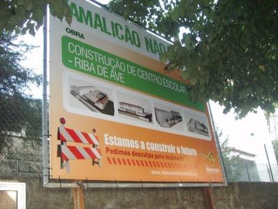 Promessa do novo Centro Escolar em Riba de AVe