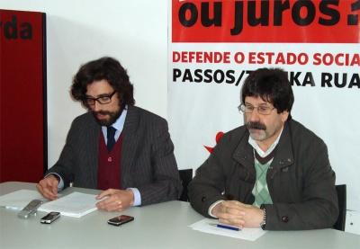 Adelino Mota e Rui Costa