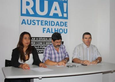Teresa Fidalgo, Adelino Mota e José Luís Araújo